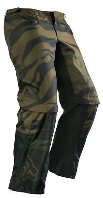 Fox 16 Nomad Union Pants Army Green MX Motorcross Off Road Dirt Bike Wear