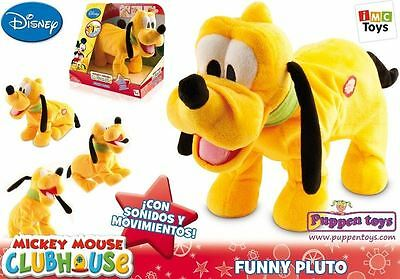 Funny Pluto Doll Moves and Barks Interactive IMC Toys- 181144