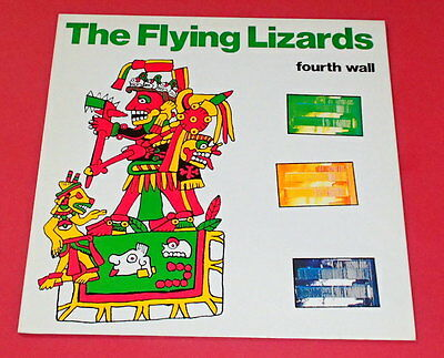 Flying Lizards -- Fourth wall -- LP / Jazz