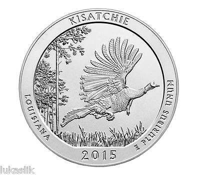 Kisatchie National Forest 2015 Louisiana  quarter coin (S) Uncirculated