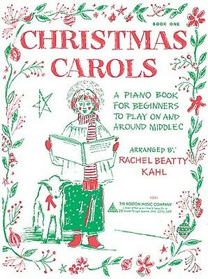 Christmas Carols Book 1 Sheet Music A Piano Book for Beginners to Play 014006708