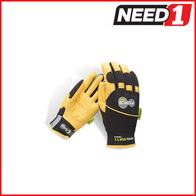 Force360 MX11 Predator Deerskin Mechanics Safety Glove