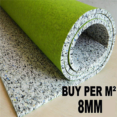 Buy Per M² - Luxury 8mm Thick PU Foam Carpet Underlay - High Quality + CHEAP!