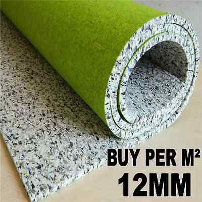 Super Luxury 12mm Thick Carpet Underlay Buy Per M² - Cheapest on Ebay!