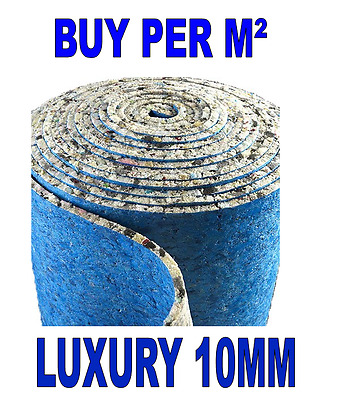 Buy Per M² - PU Foam Carpet Underlay 10mm Thick - Cheapest on Ebay!