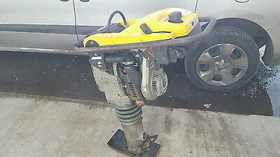"wacker neuson trench rammer bs502 2011 YEAR 6"" JUMPING JACK COMPACTOR PLATE"