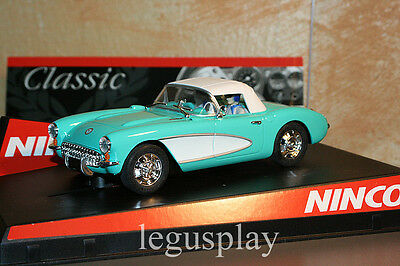 SCX Scalextric Slot Ninco 50460 Corvette Soft Top