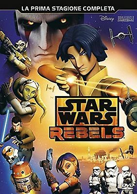 COFANETTO DVD Star Wars - Rebels - Stagione 1 (3 Dvd) PRIMA SERIE