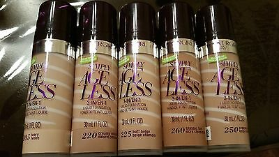Covergirl Olay Simply AgeLess 3 in 1 Liquid Foundation You Choose!!!