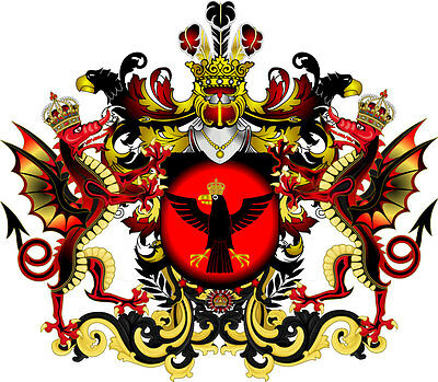 Baron Or Baroness Of Black Raven Title Of Nobility Herzog Graf Countess Prince