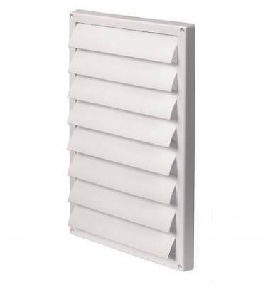 Gravity Flaps 220mm x 340mm Exterior Wall Ventilation Cover Air Vent Grille T90