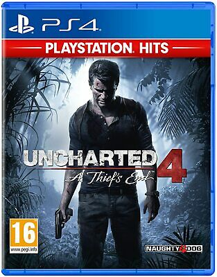 Uncharted 4: A Thief's End | PS4 PlayStation 4 | NEU & OVP | Blitzversand
