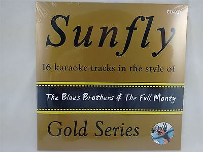 Sunfly Karaoke Gold Series Volume 31 The Blues Brothers & Full Monty CD+G New