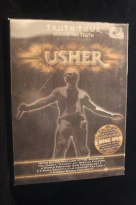 "Usher ""Truth Tour"" 3 Disc DVD Box Set  (Live From Atlanta) 3-D Cover EXCELLENT"
