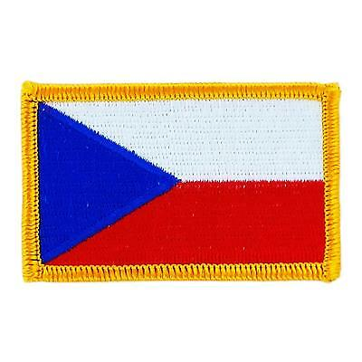 Patch écusson brodé Drapeau  FLAG republique tcheque Insigne Blason