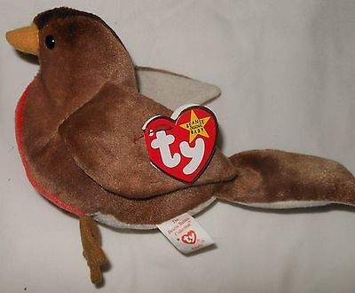 Ty Beanie Baby   Early Bird   1997 Hand Tag  1998 Tush Tag   Retired  Mint