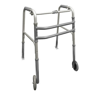 Lightweight Walking Frame with Wheels and Skis for general purpose use