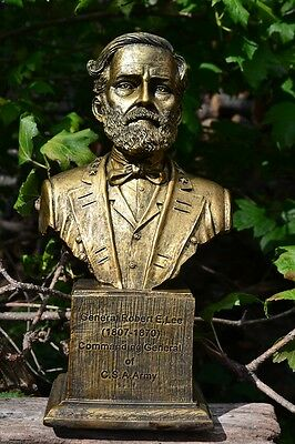 Robert E. Lee Bust - Civil War - General of CSA Army - Confederate - Poly-Resin