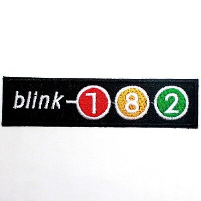 Blink 182 American Hard Rock Punk Music Band Jeans Jacket T-Shirt Iron on Patch