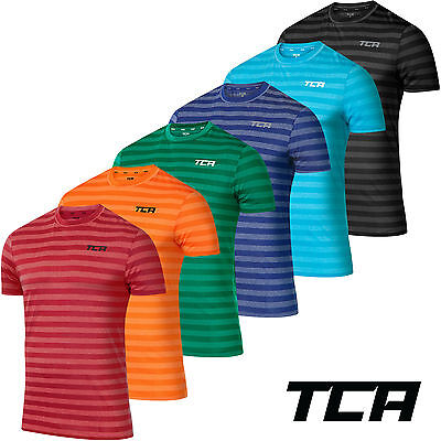 Men's TCA Reaction - Quick Dry Bright Spring Summer T Shirt Running Jogging Top