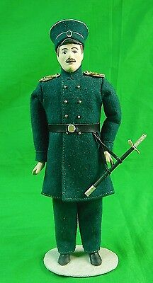 Russia St. Petersburg Poscelain Figurine Doll Imperial Russian Naval Officer