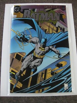 Batman Hologram Stickers  Mint Condition Sheet Of 5