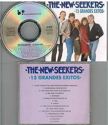 The New Seekers - 15 Grandes Exitos CD 1992