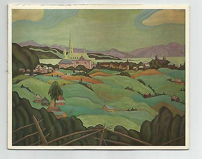 Laurentian Village,  Bess Housser, Rous & Mann Press Ltd. Print / Art Calendar