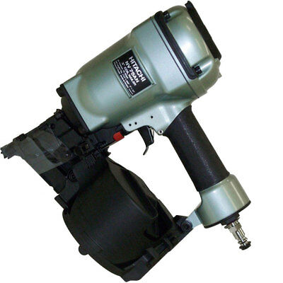 "Hitachi 16 Degree 3"" Coil Framing Nailer NV75AN New"