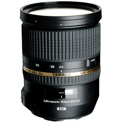 Tamron SP 24-70mm f2.8 Di VC USD Standard Zoom Lens - Choose Your Mount