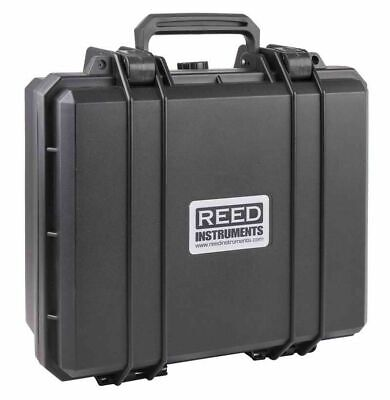 REED R8888 Injection Molded Plastic Carrying Case 13 x 12 x 5.8 w/ Foam Inserts