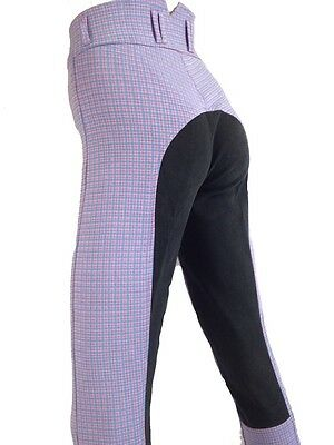 Ladies Breeches Purple Breeches Womens Riding Pants Full Seat Suede Sizes 8-18