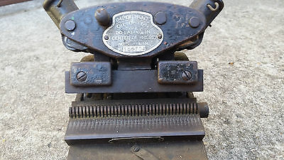 """collectible Clipper No.155704 Manual 6"""" Belt lacer, 2 handles type."""