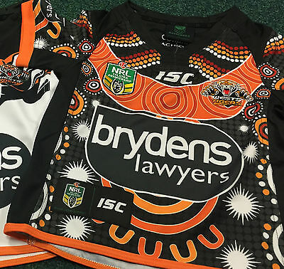 West Tigers Indigenous KIDS Jersey - NRL - BNWT - RARE