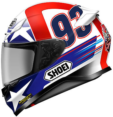 Shoei RF-1200 Indy Marquez Full Face Motorcycle Helmet CLOSEOUT