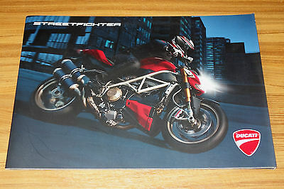 Catalogue DUCATI Streetfighter de 2009