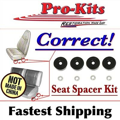 Fits Challenger Superbee Cuda GTX Seat Rail Mounting Spacers