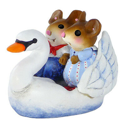 SWAN BOAT SWEETHEARTS by Wee Forest Folk,  WFF# M-475