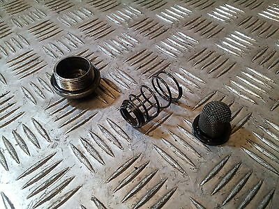 2008 Baotian BT49 QT9  oil sump plug filter and spring