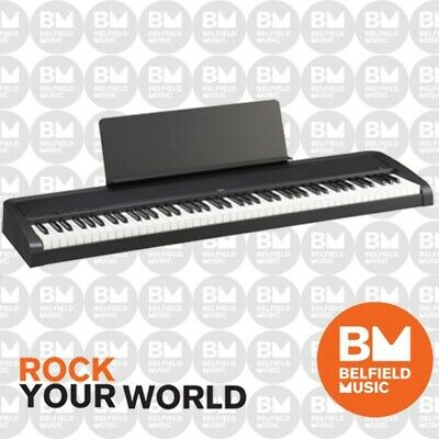 Korg B1 Digital Electric Natural Weighted Stage Concert Piano Black 88 Key Note