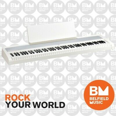 Korg B1 Digital Electric Natural Weighted Stage Concert Piano White 88 Key Note