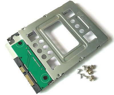 """HP 654540-001 SAS/SATA/SSD 2.5"""" to 3.5"""" Drive Adapter Hard Disk Carrier Caddy"""