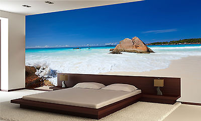 Stunning Tropical Beach Wall Mural Photo Wallpaper GIANT DECOR Paper Poster