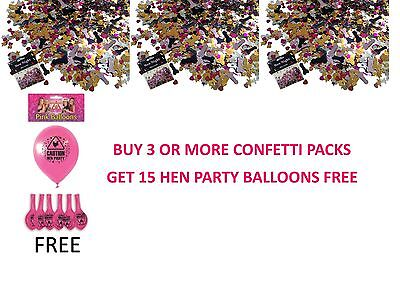 OFFER WILLY Penis Confetti Hen Party Night Bride To Be Table Scatters Sprinkles