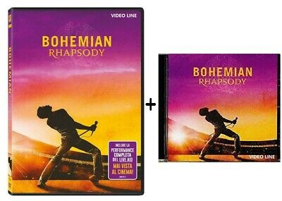 Dvd Bohemian Rhapsody - Queen (DVD+CD Colonna) Contiene la Performance Integrale