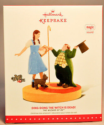 Hallmark: Ding-Dong The Witch Is Dead! - Wizard of Oz - 2015 Keepsake Ornament