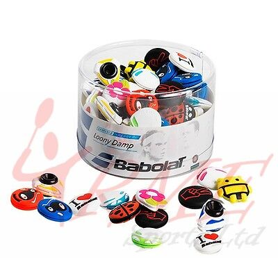 Babolat Loony Damp (Tennis Vibration Absorber / Dampener) x 75