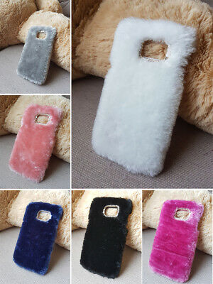 Luxury Warm Soft Fur Hair Case Cover For Galaxy S 3 4 5 6 7 edge Plus Note3 4