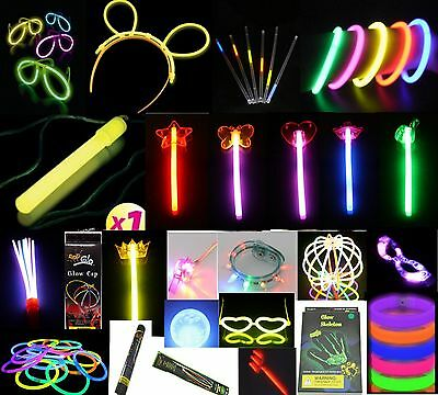Glow and flashing items - many unusual ones for parties, clubbing and raves