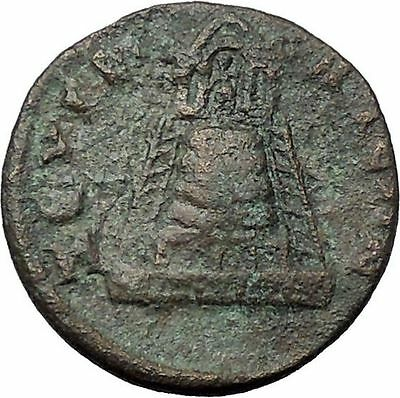 PHILIP II 244AD Zeugma in Commagene TEMPLE GROVE Rare Ancient Roman Coin i54441